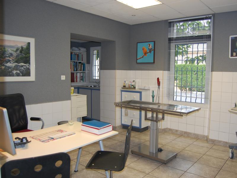 Salle de consultation Clinique vétérinaire Saint Louis Brignoles - Provence Verte